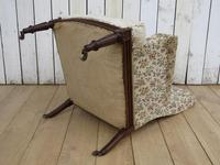 Antique Napoleon III High Back Armchair (7 of 8)