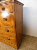 Large 19th Century Camphor Wood Colonial Chest of Drawers (6 of 11)