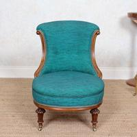 Tub Chair 19th Century Carved Mahogany (8 of 8)