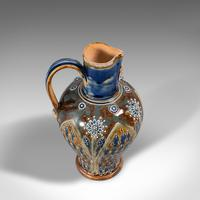 Antique Serving Ewer, English, Ceramic, Decorative, Amphora, Victorian, 1876 (7 of 12)
