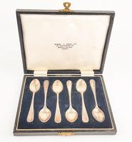 Barker Brothers Silver Set of Spoons Birmingham 1964-65 (3 of 4)