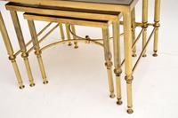 1950's Italian Brass & Glass Nest of Tables (7 of 8)