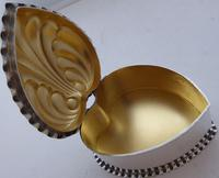 Victorian 1890 Hallmarked Solid Silver Love Heart Jewellery Box Pill Box (6 of 11)