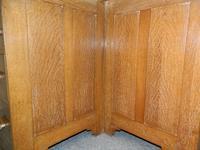 Oak Corner Desk (6 of 7)