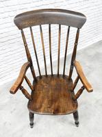 Antique Stickback Windsor Armchair (4 of 6)