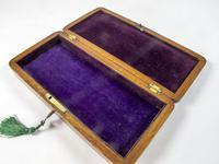 Early Victorian Mahogany Glove Box (3 of 4)