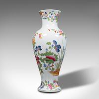 Antique Baluster Posy Vase, English, Ceramic, Decorative, Flower Urn c.1920 (6 of 12)