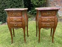 Pair of Marquetry Bedside Tables (3 of 8)