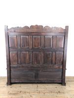 Antique Victorian Carved Oak High Back Settle (2 of 15)