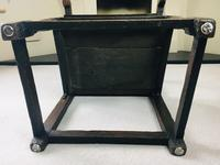 Rare English Charles II Oak Wainscot Armchair Likely to be from Battle Abbey c.1660-1685 (9 of 20)
