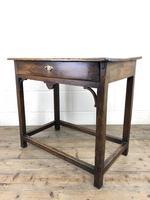 18th Century Oak Side Table (11 of 14)