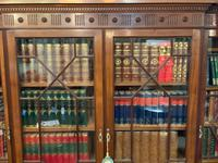 Late Victorian Mahogany 4 Door Library Bookcase (5 of 13)