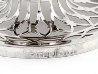 William Comyns Edwardian Silver Potpourri Bowl (6 of 6)