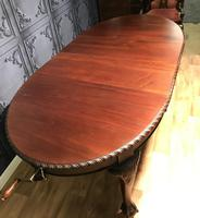 Edwardian Mahogany Extending Dining Table Two Leaves (6 of 16)