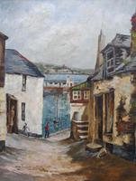 Oil on Canvas Cornish Sea View Listed Artist Dora Johns 1966 (3 of 10)