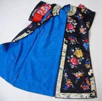 19th Century Chinese Silk Embroidered Robe (10 of 11)