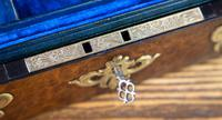 Burr Walnut & Brass Jewellery Box 1860 (9 of 14)