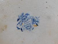 "19th Century, ""Pekin Stone China"" Ironstone Plate (5 of 5)"