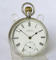 Antique Waltham Silver Pocket Watch (2 of 5)