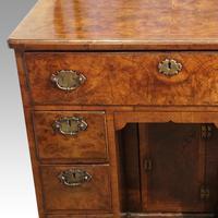 George III Walnut Kneehole Desk (11 of 12)