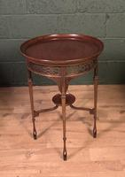 Fine Quality Edwardian Side or Lamp Table (10 of 10)