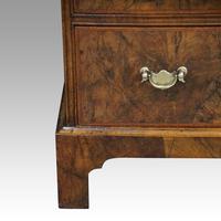 19th Century Walnut Bureau Bookcase (5 of 19)