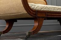 19th Century Regency Mahogany Chaise Longue (4 of 6)