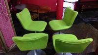 Set of 4 Stylish Mid Century Beyon Designer Chairs (2 of 4)