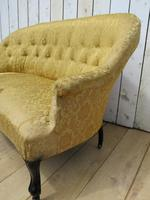 Antique French Button Back Sofa for Re-upholstery (3 of 8)