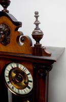 Fantastic Rare Victorian 8-day Wall Clock – Small Antique Striking Vienna Wall Clock (8 of 17)