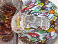 2 Beautiful Italian Murano Fratelli & Torso Millefiori Glass Vases (25 of 34)