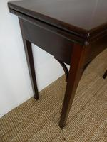 Neat English 18th Century Turn Over Side Table (7 of 8)