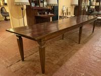 Large Monastery Table From 4m Long-19th Century-netherlands (7 of 9)
