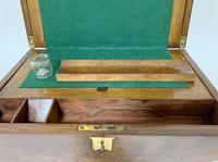 Victorian Walnut Writing Slope Box (7 of 15)