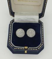 Diamond Starburst Cluster Earrings (2 of 6)