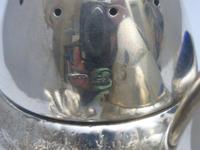 Silver Victorian Acorn Cruet Set (5 of 6)