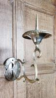 Pair of Late 18th Century Gilt Brass Wall Sconces (2 of 4)