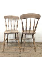 Set of Four Antique Kitchen Chairs (11 of 11)