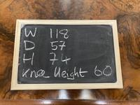 Fine Rare Burr Walnut Writing Table or Desk (11 of 20)