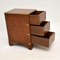 Burr Elm Military Campaign Style Side Chest (9 of 11)