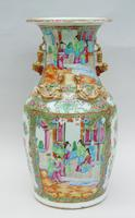 Good Large 19th Century Chinese Famille Rose Vase (5 of 12)