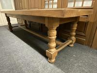 Rare Huge Oak French Farmhouse Dining Table (10 of 18)