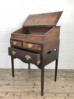 18th Century Oak Clerks Desk (9 of 12)