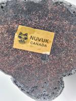 Vintage Wolf Original Inuit Nuvuk Canada Carved Soapstone Eskimo (4 of 5)