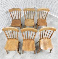 Set of 6 Windsor Stickback Kitchen Chairs (4 of 5)
