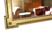 Large Gilt 19th Century Overmantle or Wall Mirror (5 of 7)