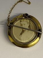 Victorian 15ct Pearl & Diamond Locket Brooch (5 of 6)