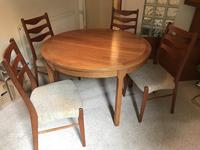 Troeds Nils Jonsson Mid Century 2-8 Seater Dining Table
