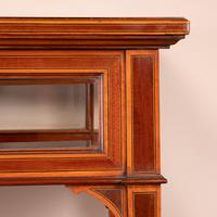 Fine Quality Edwardian Inlaid Mahogany Bijouterie Display Table (18 of 18)