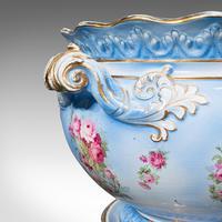 Antique Jardinière on Stand, English, Ceramic, Decorative Planter, Victorian (10 of 12)